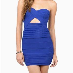 TOBI Royal Blue Bodycon Dress